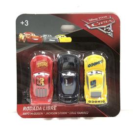 Full Carros Cruz Set 3 Juguete Jackson Mayoreo Cars3 Rayo c3K1JlFT