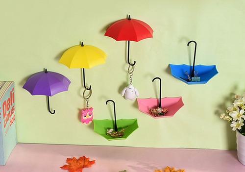 set 3 colores colgador de pared fashion organizador llaves