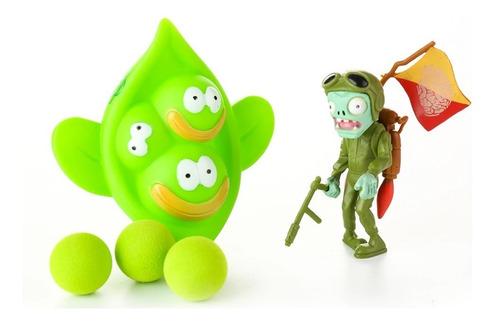 set 3  disparadores planta vs zombie