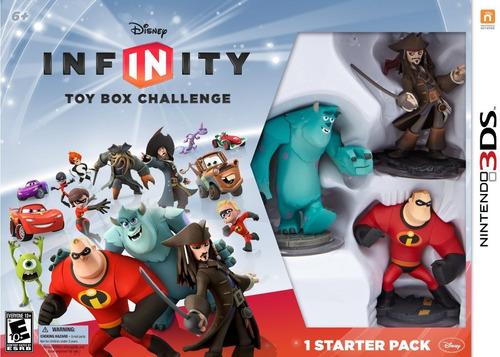 set 3 figuras disney infinity nintendo 3ds ibushak gaming