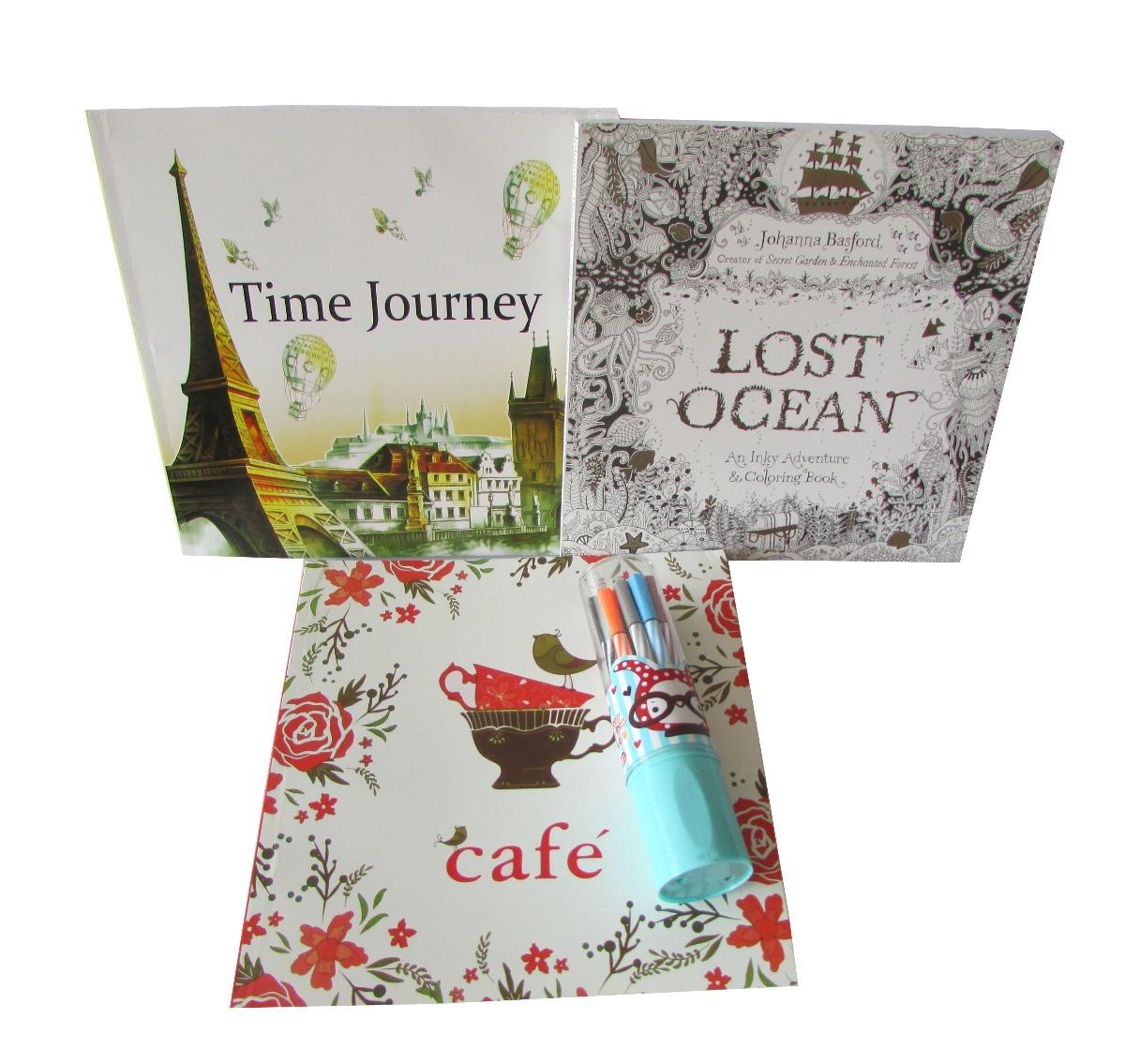 Set 3 Libros Mandalas Para Pintar + 12 Lapices - $ 7.000 en Mercado ...