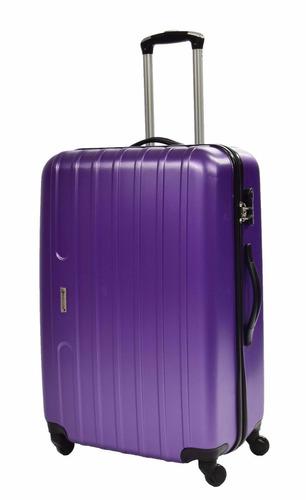 set 3 maletas de viaje trolley ruedas giratorias