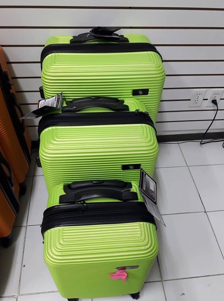 9efff4a85 Set 3 Maletas Rigidas Viaje Equipaje Juvenil Vacaciones - $ 2,950.00 ...