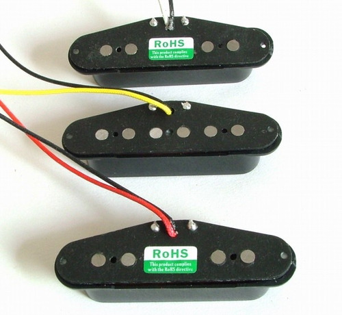 set 3 microfonos belcat bs-01 single coil guitarra electrica