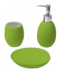 set 3 piezas apoyo apoyar baño accesorios piacenza