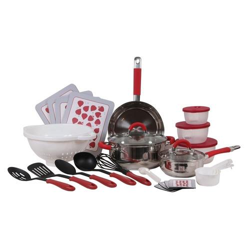 set 32 piezas cocina kitchen starter