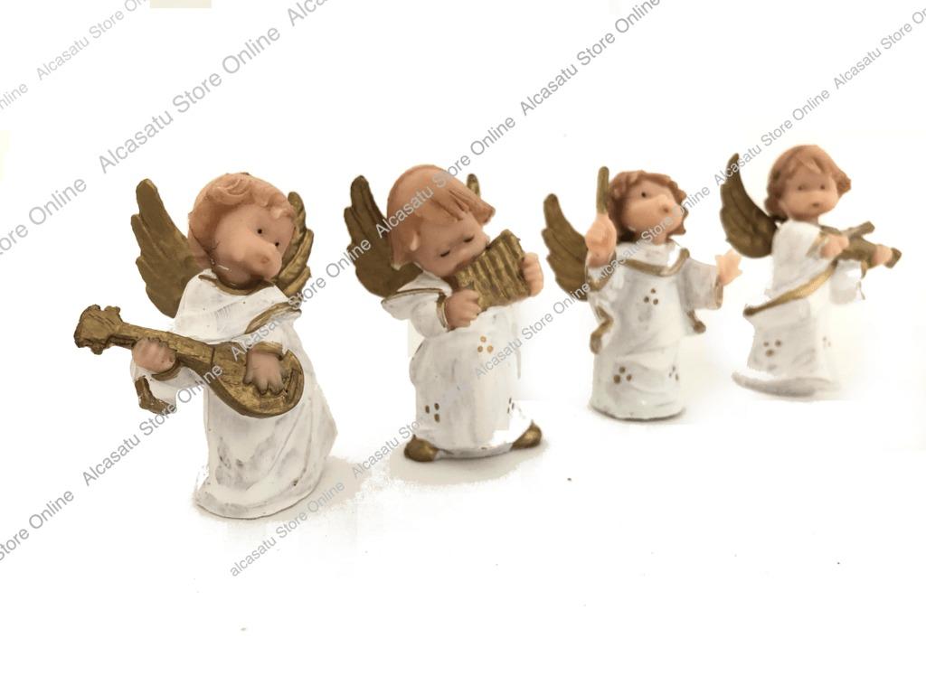 Set 4 Angeles Bebes Musica Souvenirs Angel Souvenirs 16667 En