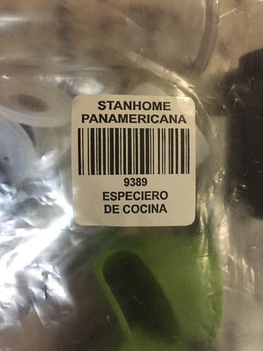 set 4 condimentero especiero aéreo stanhome accesorios cocin