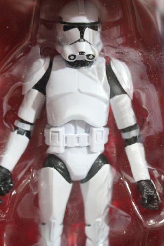 set 4 figuras de trooper black series star wars episodio 7