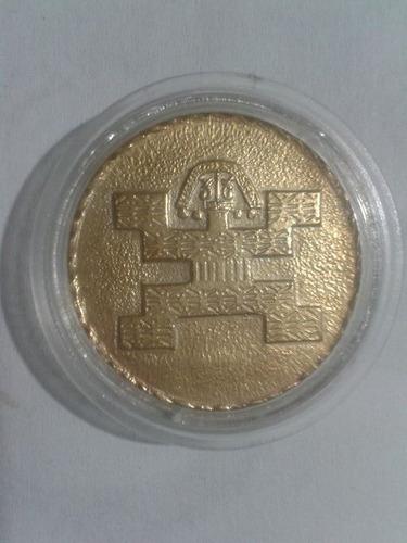 set 4 monedas colombia- serie culturas indigenas - oro 20 mc