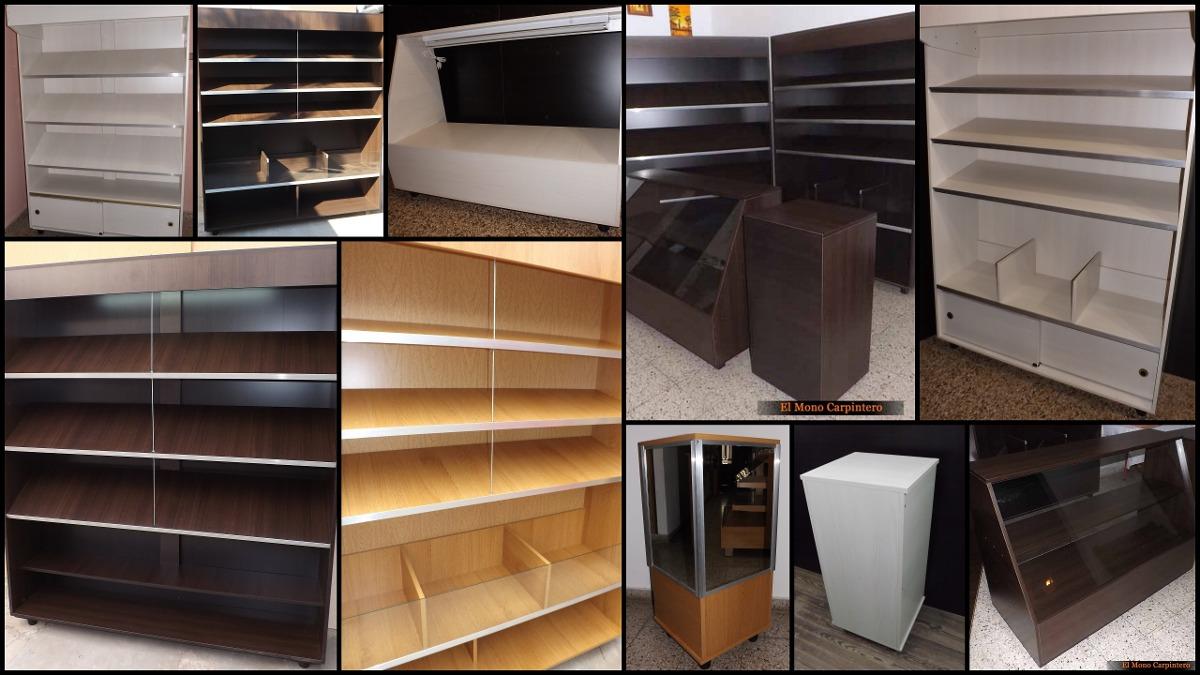 Set 4 Muebles Panader A 1 2m Frente Mel 18mm Santa Fe  # Muebles Santa Fe
