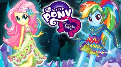set 4 muñecas my little pony equestria girls fair play toys