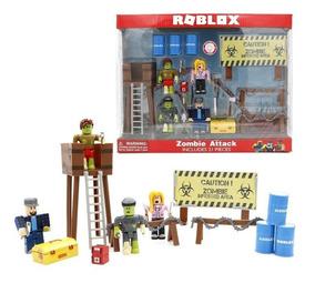 Set 4 Muñecos Roblox 17 Accesorios Armables Y Desarmables - fire jake roblox