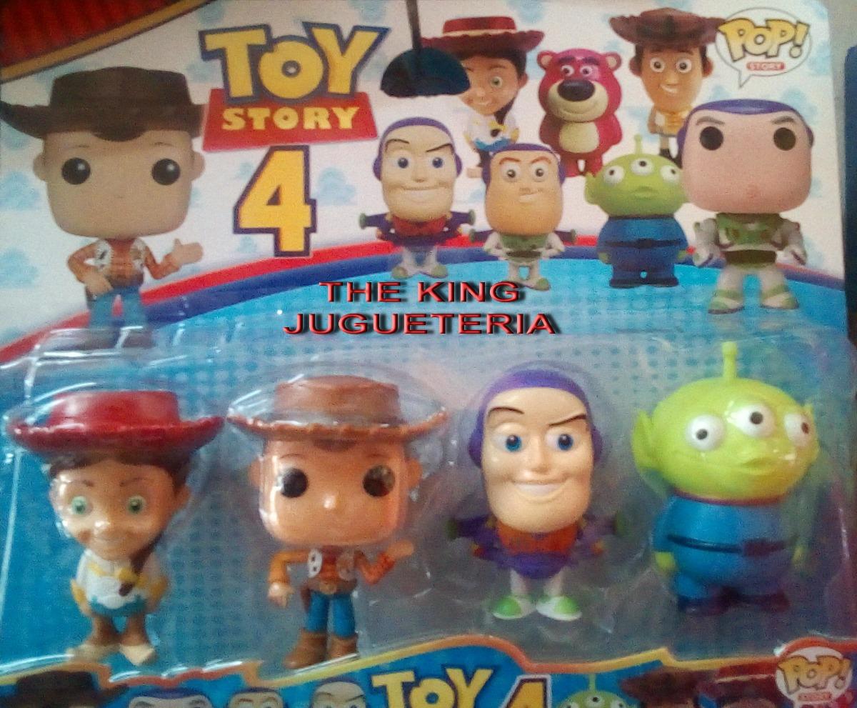 Set muñecos toy story tipo funko pop woody buzz jessie etc jpg 1200x991  Woody jessie que 7428cc15644