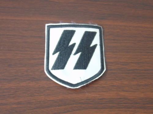 set 4 parches textiles alemania 2da. guerra mundial