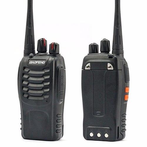 set 4 radios baofeng bf-888s walkie talkie dos vias