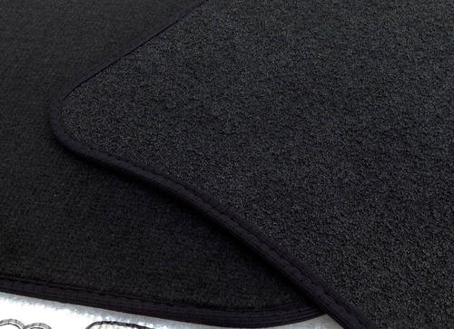 set 4 tapetes originales vw bora 2005-2010 alfombra negro