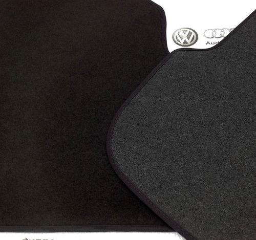 set 4 tapetes vw jetta a6 2011-2018 alfombra con broches mk6