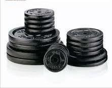 set 40 kilos mancuernas cromadas y pesas nacionales