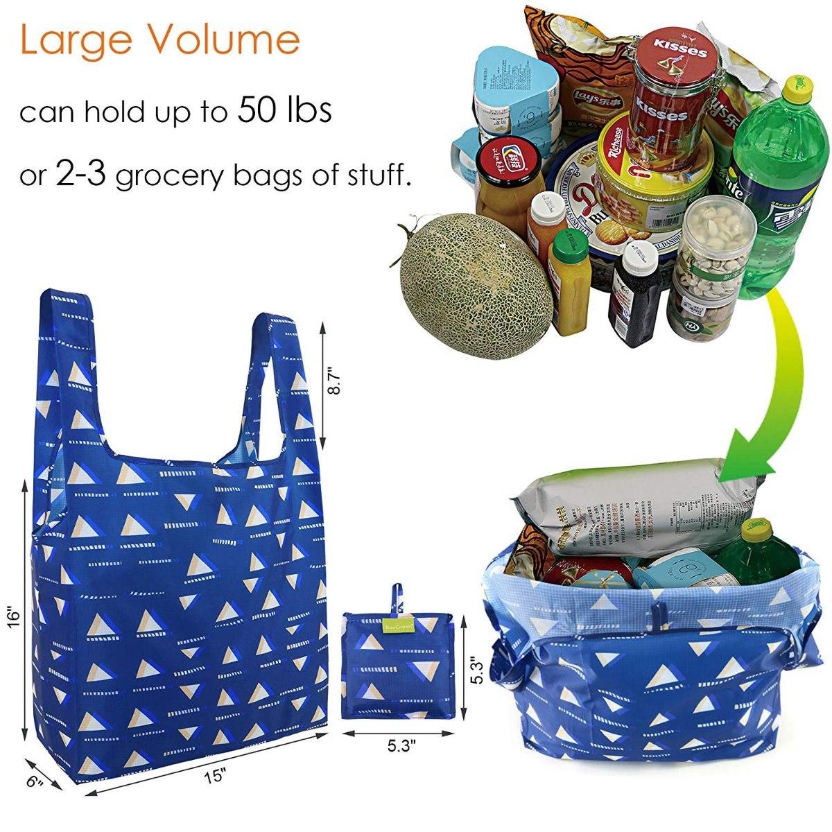 584fbfc9d set 5 bolsas ecologica de supermercado reutilizable beegreen. Cargando zoom.