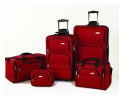 set 5 maletas de viaje samsonite100% original+envio gratis