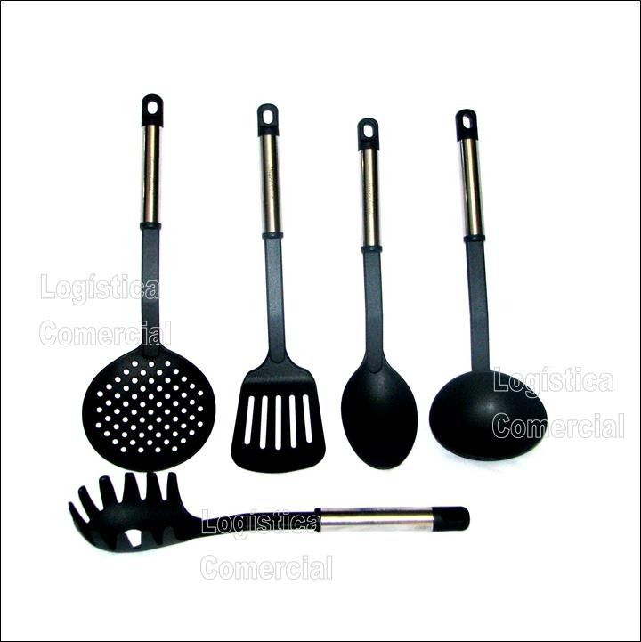 Set 5 Utensilios Cocina Nylon / Acero Smart Cook - Bs. 25.550.000,00 ...