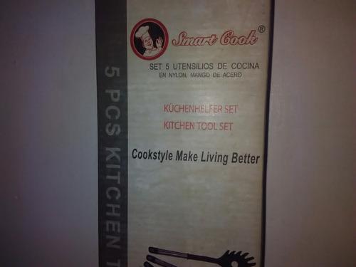 set 5piezas utensilios de cocina