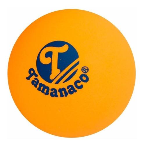 set 6 bolas de tenis de mesa - ping pong marca tamanaco