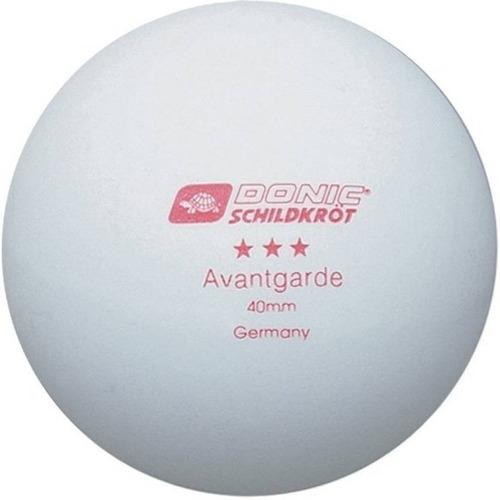 set 6 pelotitas de ping pong donic 3 estrellas blancas