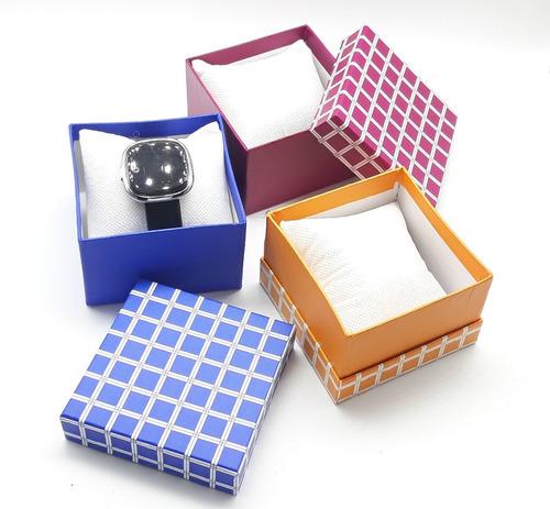 set 6 piezas caja relojera porta reloj almohadilla estuche