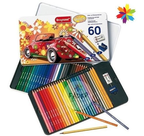 set 60 lápices profesionales bruynzeel holanda barrio norte