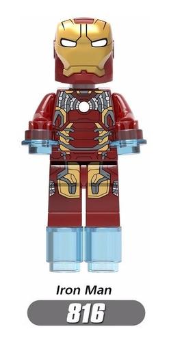 set 8 figuras vengadores / avengers