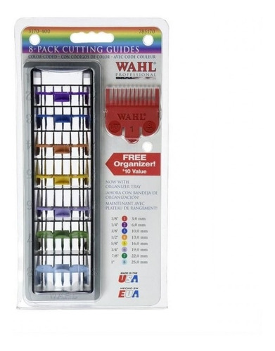set 8 peines de alzada wahl - tienda oficial