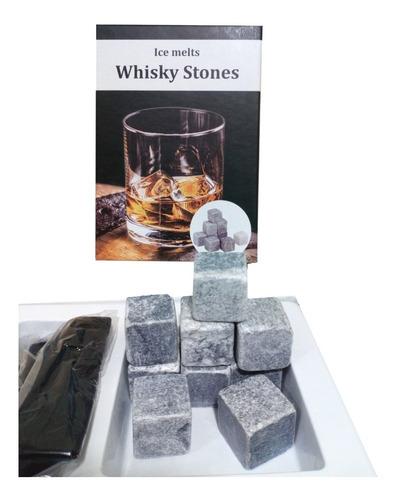 set 9 cubos de hielo roca whisky vodka piedra