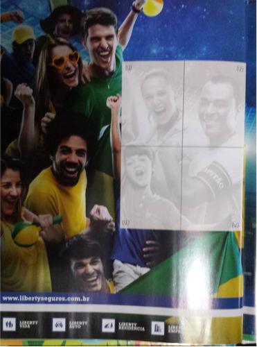 set 9 estampas especiales álbum brasil 2014 panini, l1,l2,l3