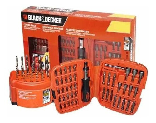 set accesorios 62 piezas black & decker 71-797 soundgroup.