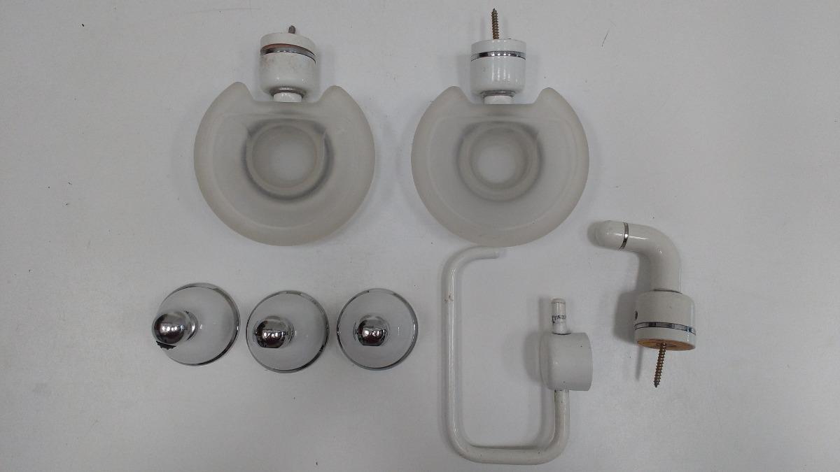 set accesorios para baño metálicos para colocar en pared. Cargando zoom. ebc8732e55a1