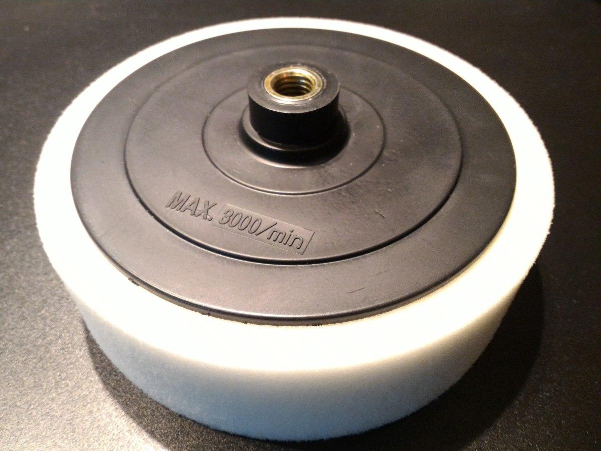 Set accesorios para pulir 7 pulgadas adaptador taladro - Accesorios para taladro ...