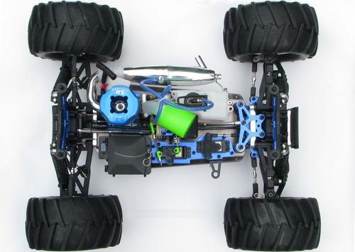 set aceleradr y freno autos hsp 81027 redcat exceed 1/8