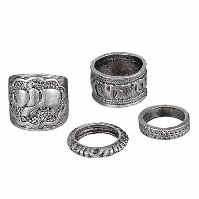 set anillos india