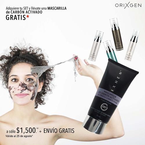 set antiarrugas con mascarilla carbón activado de regalo