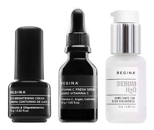 set antiedad regina serum vitamina c & hialuronico