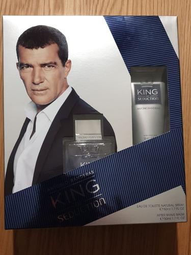 set antonio banderas king of seduction 50 ml + after shave