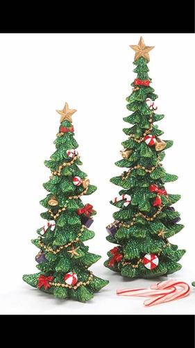 set arbolitos navideños