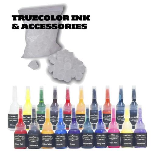 set arranque kit tatuajes tatuar 2 maquinas + tintas m1 w01