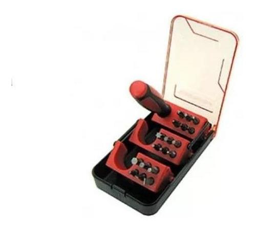 set atornillador 19 pzas + estuche black + decker