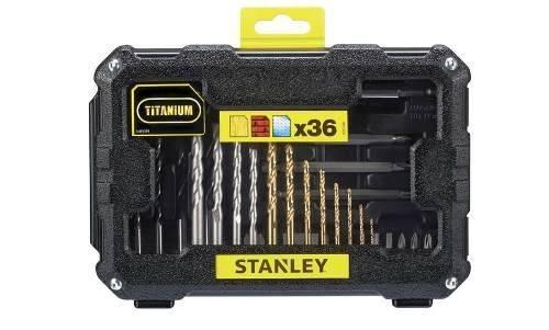 set atornillar y perforar 36 piezas sta7222-xj stanley