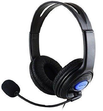 set audifono microfono ps4 + cargador joystick / oferta
