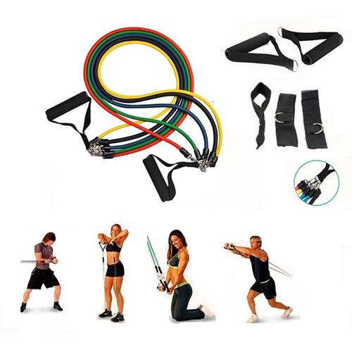 set bandas elasticas banda de resistencia elasticos ejercici