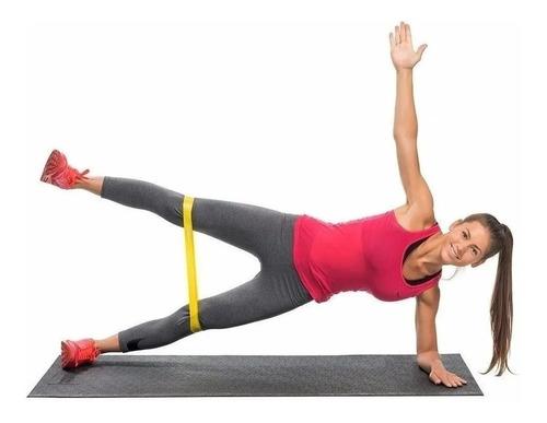 set bandas elasticas circular 5 resistencias latex kit gym